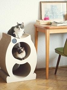 Domek-drapak dla kota Mr. Paper