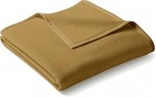 Biederlack Koc Uno Cotton 180X220 Cm, Karmelowy