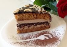 Karmelowe ciasto na bogato  Karmelowe ciasto:  400 g słodzonego mleka w puszc...