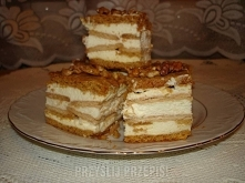 Ciasto miodowe na bogato  Ciasto: 2 szklanki mąki 1/2 szklanki cukru 1/2 kost...