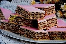 wafel czekoladowo - owocowy...