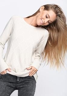 Jasnobeżowy Sweter Wait For Love