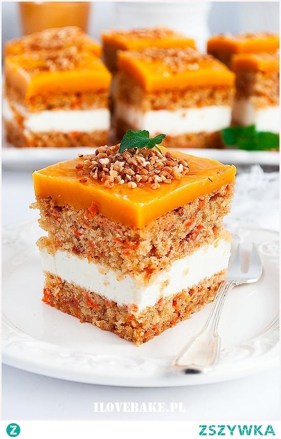 Ciasto marchewkowe z mascarpone