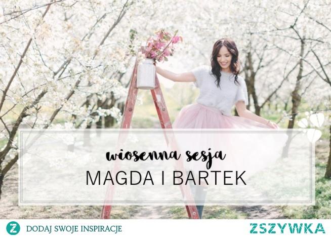 Sesja narzeczeńska w sadzie, fot. Studio Słoń Cała sesja - na blogu ślubnym Panna Allure!