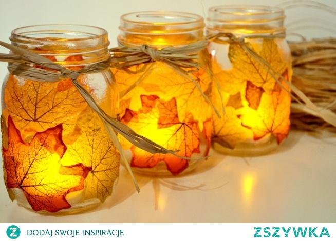 Jesienne lampki