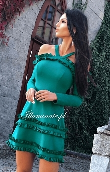Wyjątkowa jesienna sukienka...