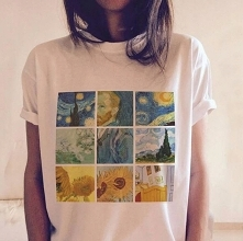 Świetna koszulka damska z n...