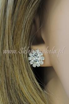 kolczyki biżuteria na ślub ...