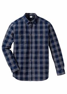 Koszula z długim rękawem, ze sztywniejszego materiału, Regular Fit bonprix ci...