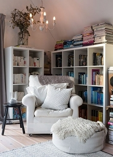 cudne miejsce do czytania i relaksu , kto chciał by tak mieć ? :)
