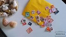 znaczki pocztowe - Handmade...