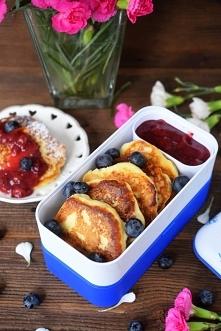 Serniczki z patelni – idealne do lunchboxa