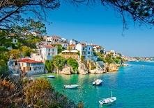 Grecja. Wybrzeże Skiathos <3