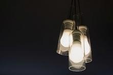 Lampa sufitowa z butelek po...