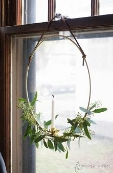 Świecznik okienny