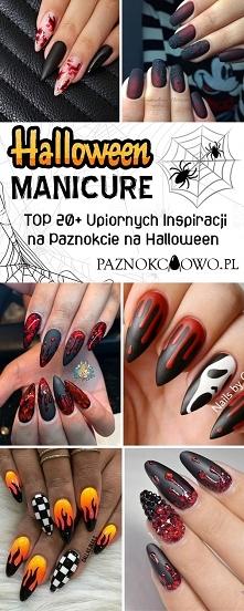 Halloween Manicure: TOP 20+ Upiornych Inspiracji na Paznokcie na Halloween