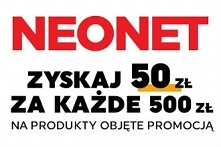 Zyskaj do 1 000 zł na następne zakupy w NEONET