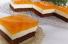 """Ciasto czekoladowo-serowe """"Dzień i Noc"""""""