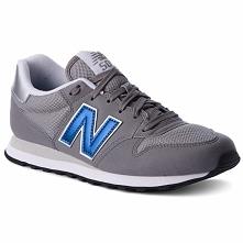 Sneakersy NEW BALANCE - GM500GBS  Szary