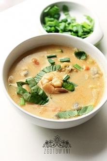 Zupa z kretetkami i czerwon...