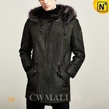 Christmas Gifts | CWMALLS® Quebec Mens Winter Sheepskin Parka CW807506 [Made ...