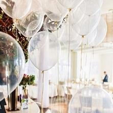 Balony to najprostszy sposób na dekorację na wieczór panieński. transparentne...