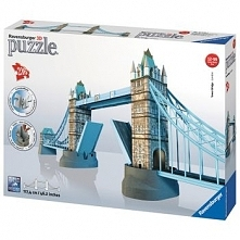 Puzzle Ravensburger 216 el. 3D Most Londyński