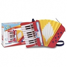 Akordeon Bontempi Play z 17 klawiszami
