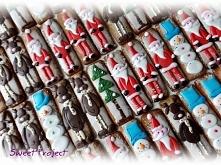 Zabawne pierniki na Boże Narodzenie. Cena za sztukę 5 zł Zapraszam do kontaktu poprzez facebookową stronę @SweetProject