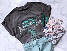 Koszulka IMAGINE DRAGONS - koszulka z nadrukiem IMAGINE DRAGONS dla fanów zes...