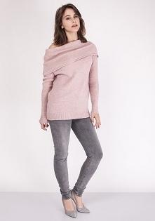 Sweter w stylu hiszpańskim, SWE127 róż MKM