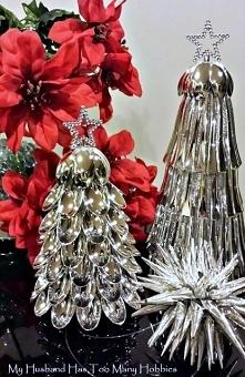 Dekoracje Świątecznych z Przedmiotów Codziennego Użytku