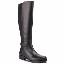 Oficerki TOMMY HILFIGER - Th Buckle High Boot FW0FW03626 Black 990