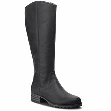 Oficerki CLARKS - Marana Trudy 261372284 Black Leather