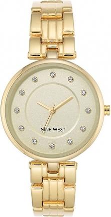 Zegarek Nine West Damski NW/2100CHGB Fashion Cyrkonie złoty