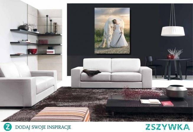 Jak się Wam podoba taka aranżacja z obrazem na płótnie canvas? Dla Was z każdego zdjęcia jesteśmy w stanie zrobić śliczny obraz.