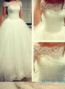 #Cinderella #princess #ballgown #weddingdress off off shoulder sleeves Model:...