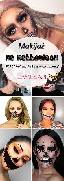 Makijaż na Halloween – TOP 20 Upiornych i Strasznych Inspiracji