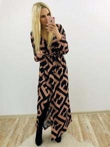 Kopertowa Sukienka Maxi 119zł