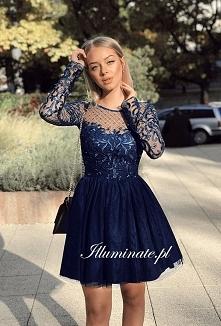 Piękna sukienka na studniów...