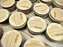 magnesy drewniane na lodówkę, zdjęcia z realizacji, więcej wzorów na stronie ...