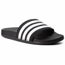 Klapki adidas - adilette Comfort AP9971 Cblack/Ftwwht/Cblack