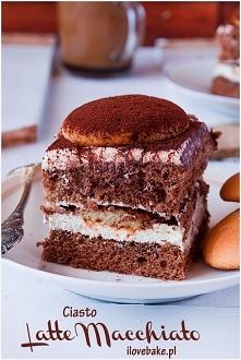Ciasto Latte Macchiato – przepis