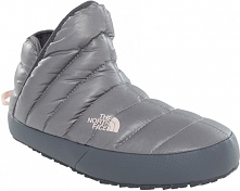 The North Face Kapcie W Thermoball Traction Bootie Shiny Frost Gre 39