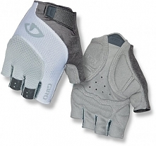 Giro Rękawiczki Rowerowe Damskie Tessa, Grey/White S