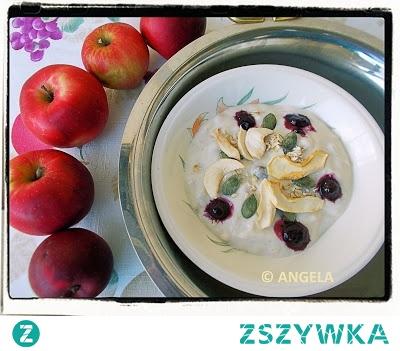Krem Budwig na jogurcie sojowym - Budwig Cream With Soia Yogurt - Crema Budwig con yogurt di soia