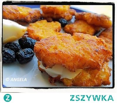 Marchewkowo-cukiniowe placki ziemniaczane - Carrot & Zucchini Potato Pancakes - Frittelle di patate zucchine e carote