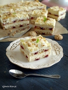 Ciasto Malakoff - bez pieczenia