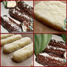 Bounty Sweets   Śmietanka (20% tłuszczu) - 200 ml Wiórki kokosowe- 200 g Czek...
