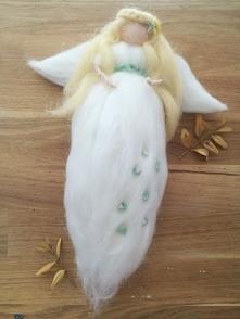 Anioł w bieli